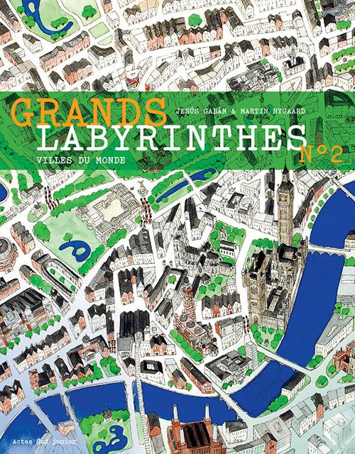 GRANDS LABYRINTHES 2 - VILLES DU MONDE