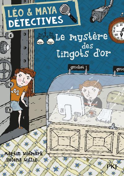 LEO & MAYA, DETECTIVES - TOME 5 LE MYSTERE DES LINGOTS D'OR