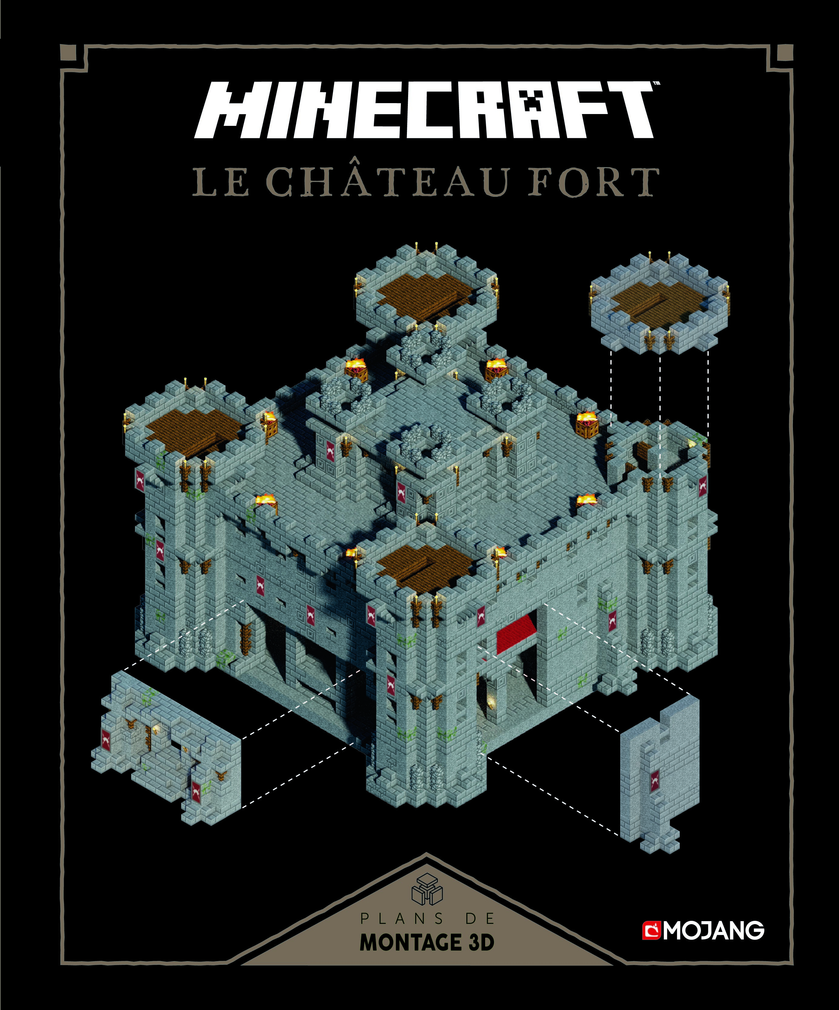 MINECRAFT - LE CHATEAU FORT