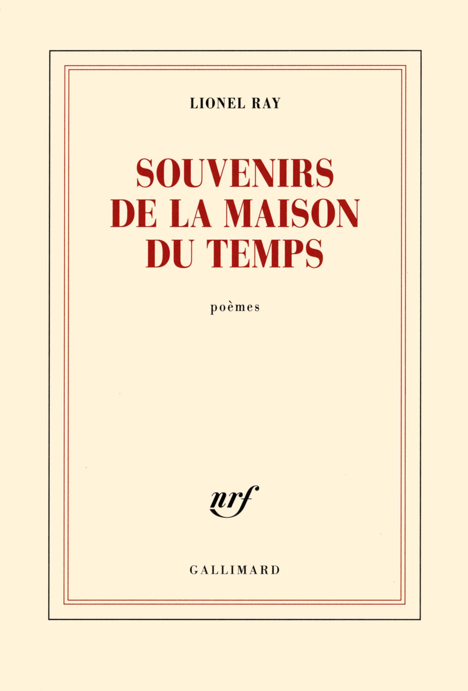 SOUVENIRS DE LA MAISON DU TEMPS