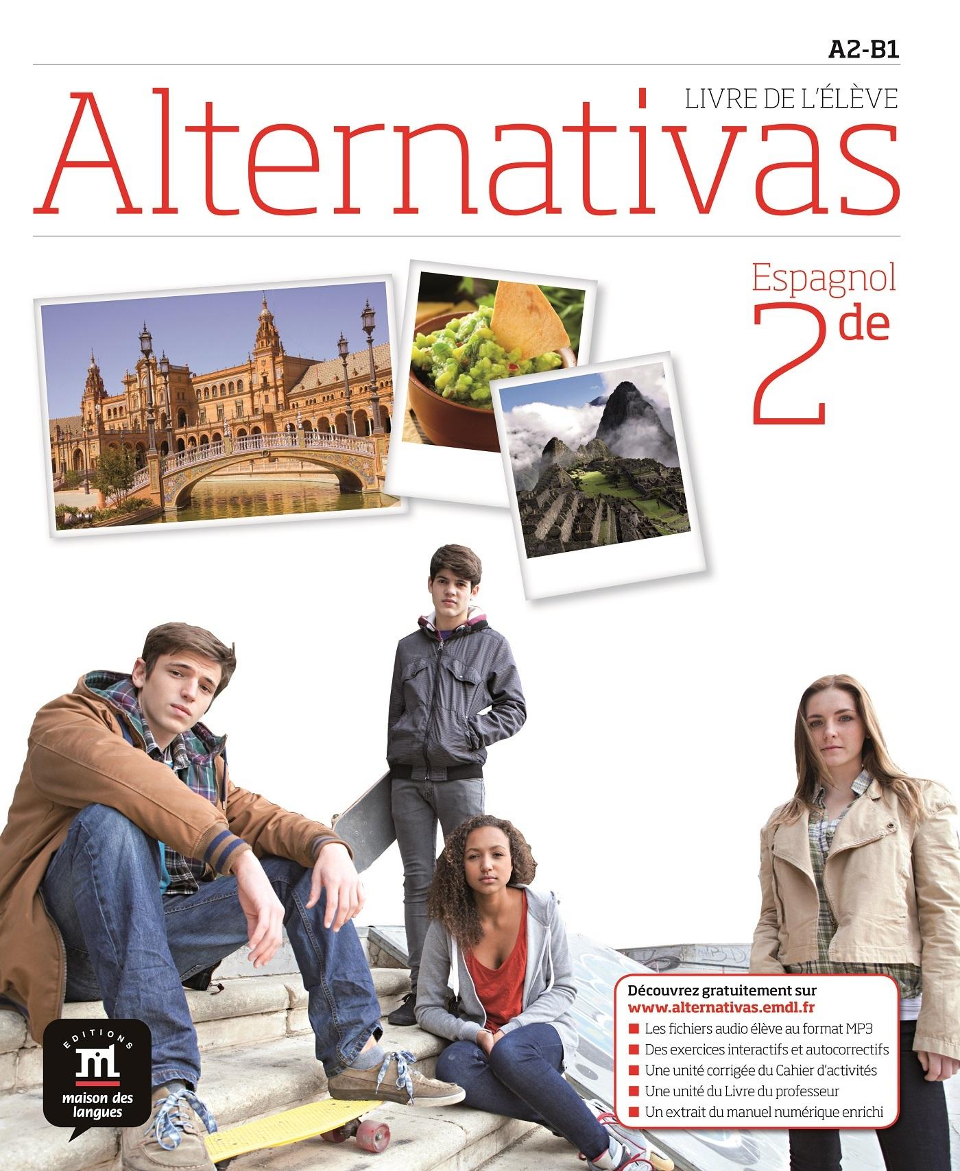 ALTERNATIVAS 2NDE - LIVRE ELEVE