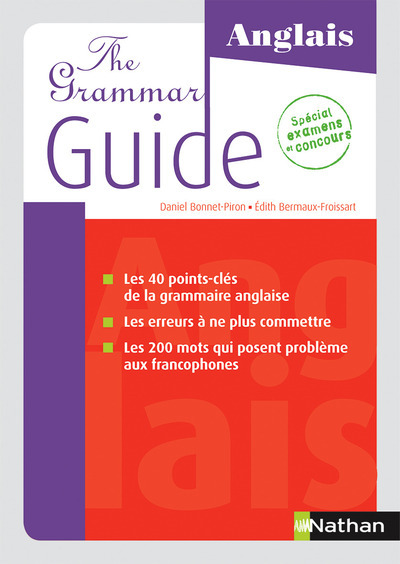 THE GRAMMAR - GUIDE ANGLAIS 2015