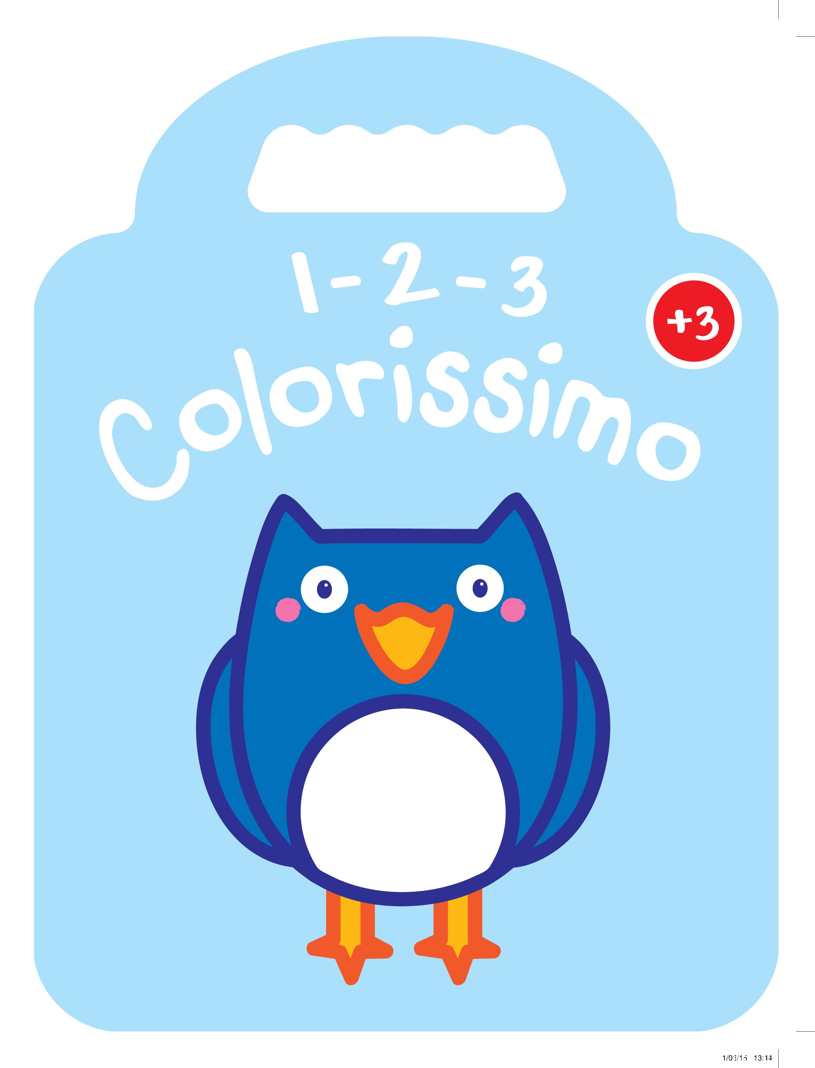 1 2 3 COLORISSIMO HIBOU  3