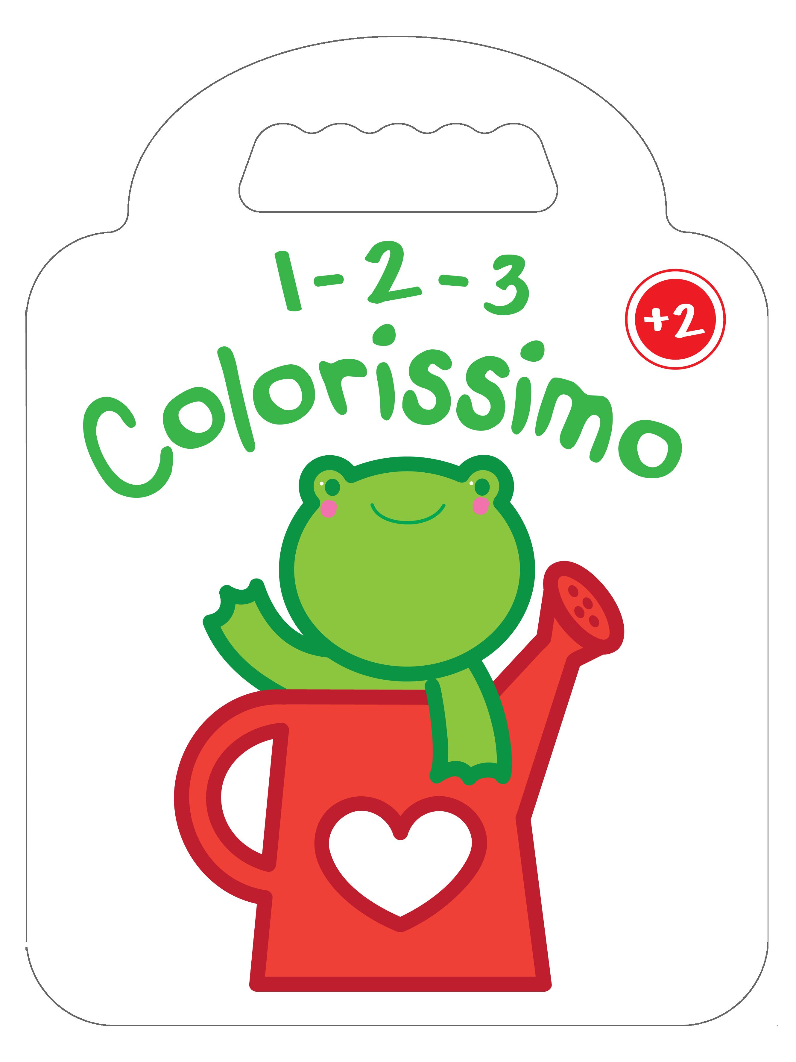 1 2 3 COLORISSIMO GRENOUILLE  2