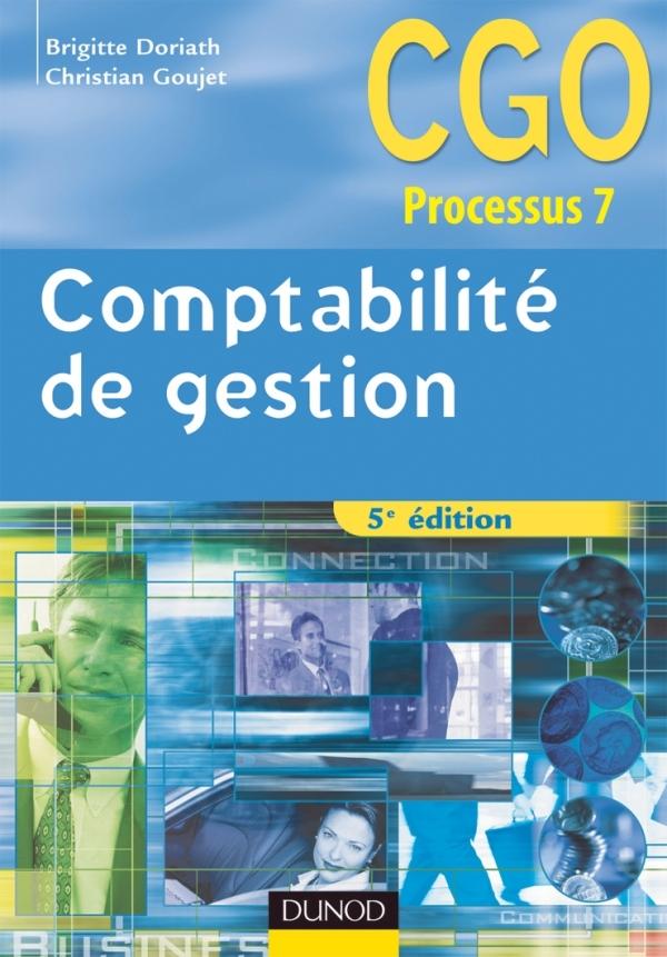 COMPTABILITE DE GESTION - 5EME EDITION - MANUEL
