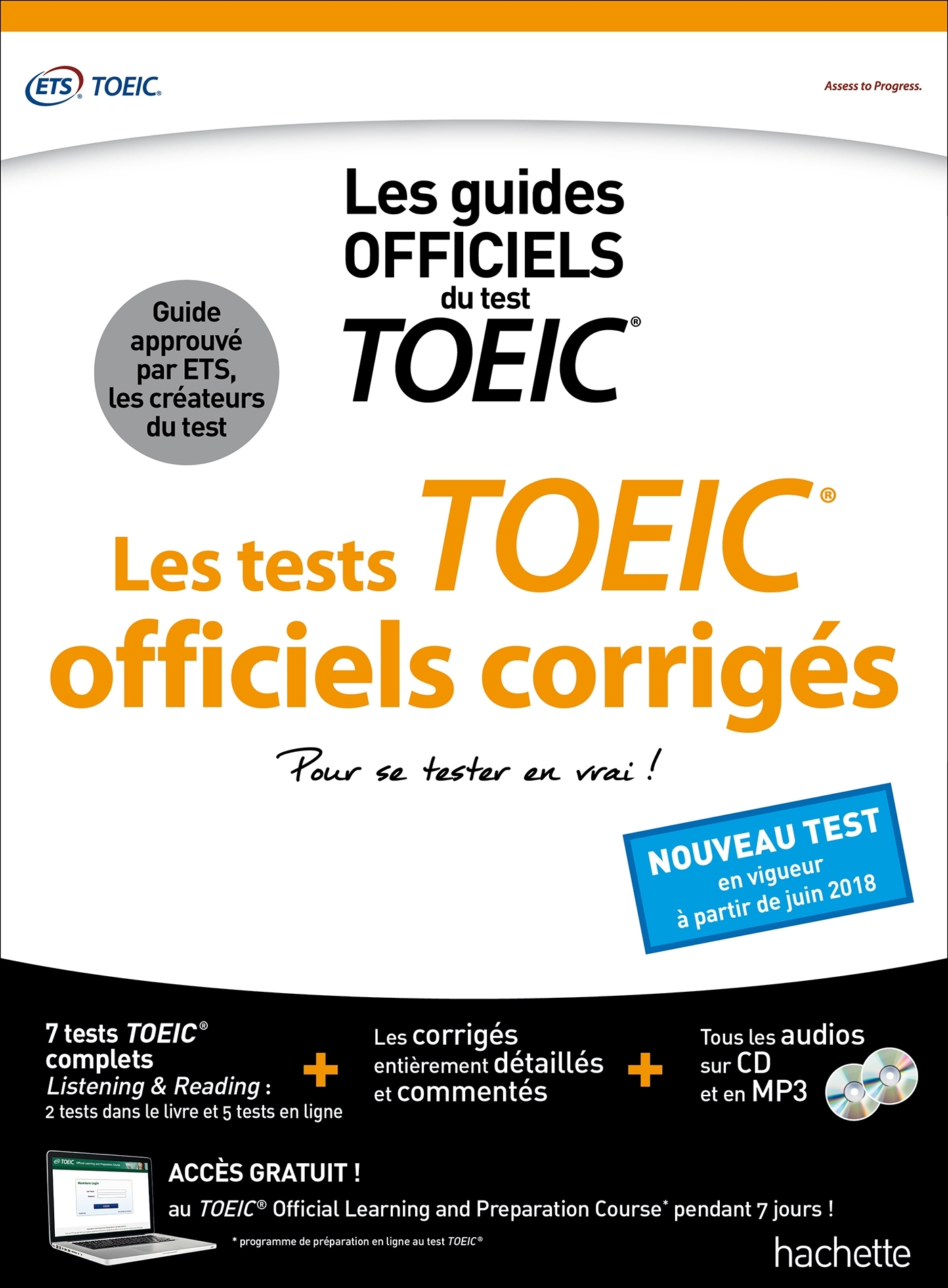 TOEIC  : LES TESTS OFFICIELS CORRIGES