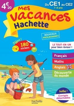 MES VACANCES HACHETTE CE1/CE2