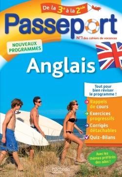 PASSEPORT - ANGLAIS DE LA 3E A LA 2DE