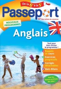 PASSEPORT - ANGLAIS DE LA 6E A LA 5E