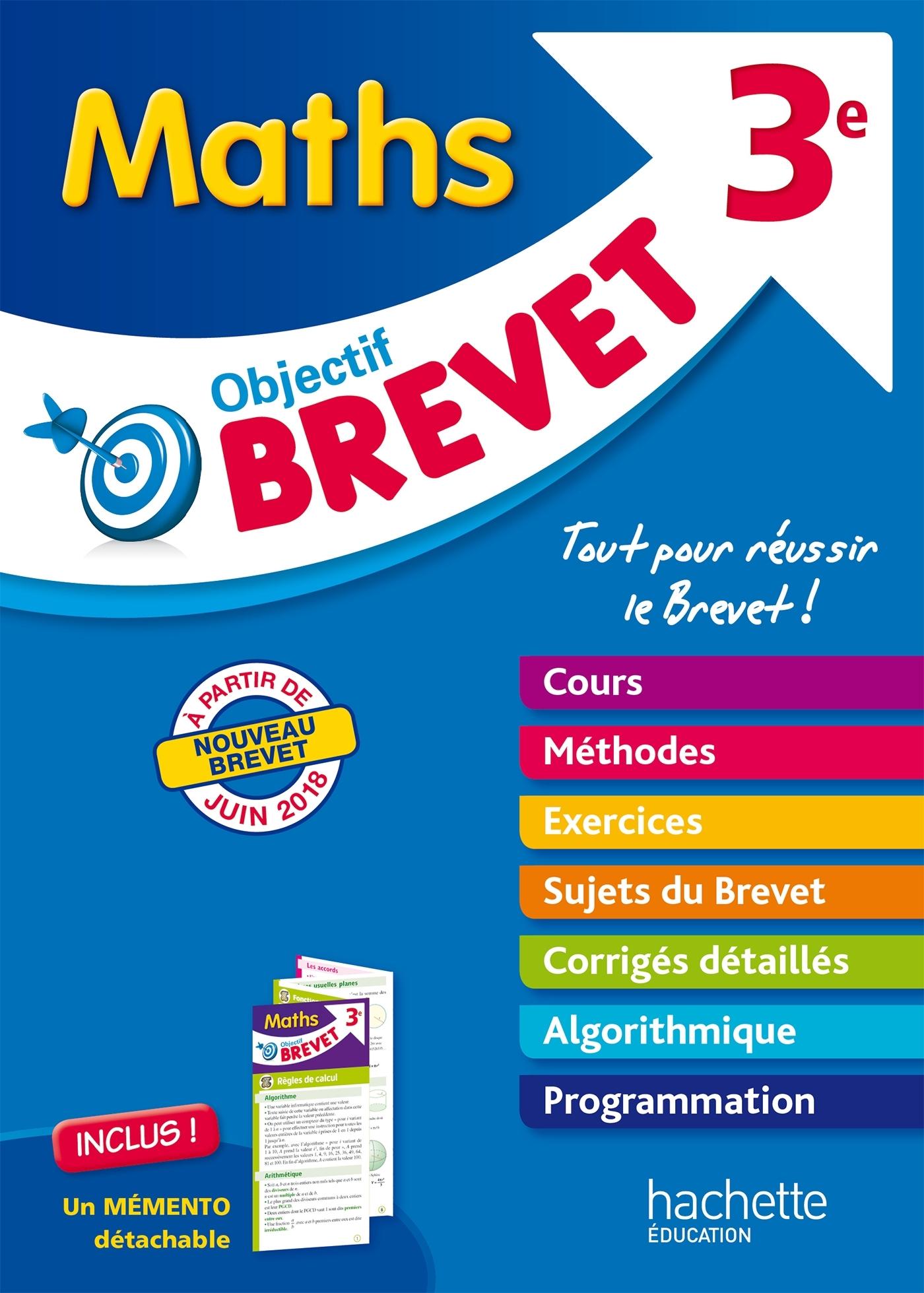 OBJECTIF BREVET - L'EPREUVE DE MATHS