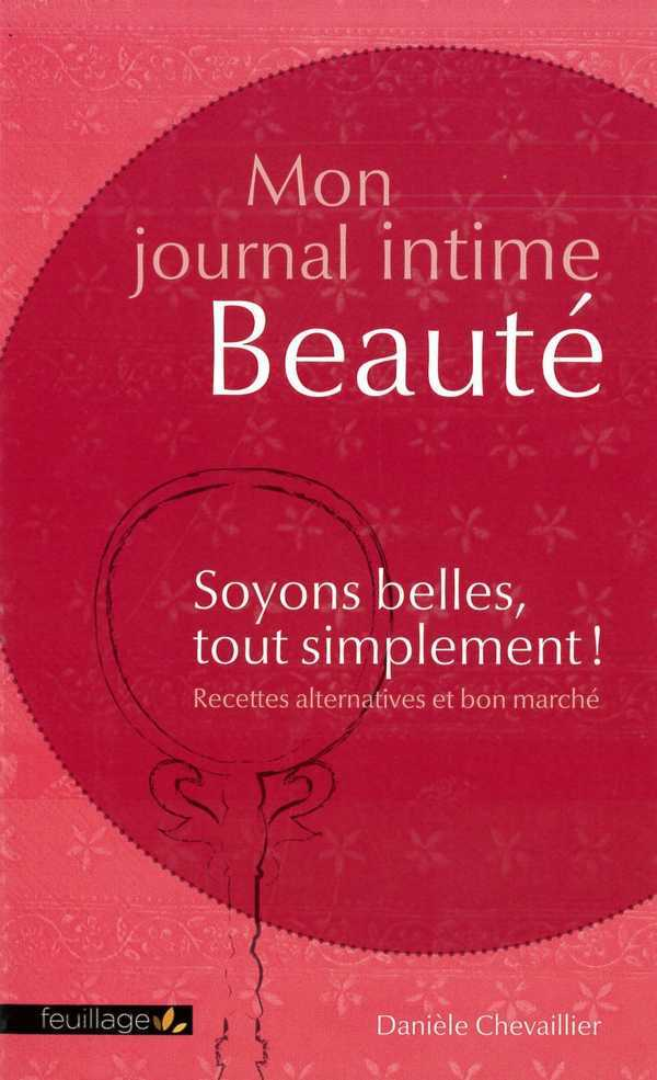 MON JOURNAL INTIME BEAUTE