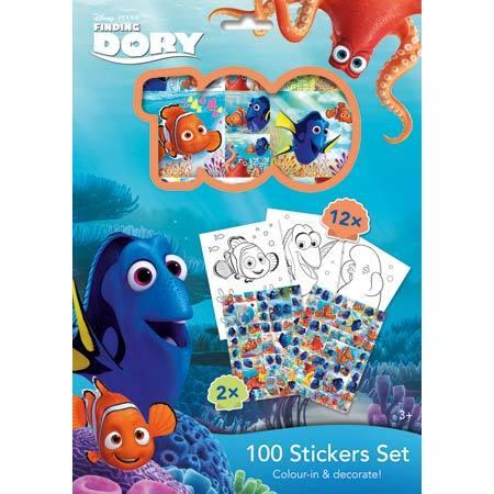100 STICKERS HOLOGRAF DISNEY/DORY