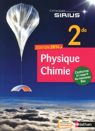 PHYSIQUE-CHIMIE 2E PETIT  FORMAT 2014