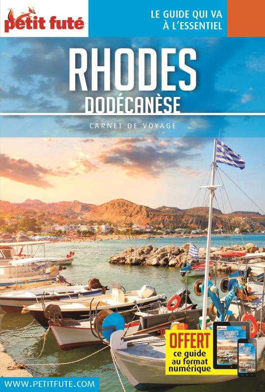 RHODES DODECANESE 2017 CARNET PETIT FUTE   OFFRE NUM