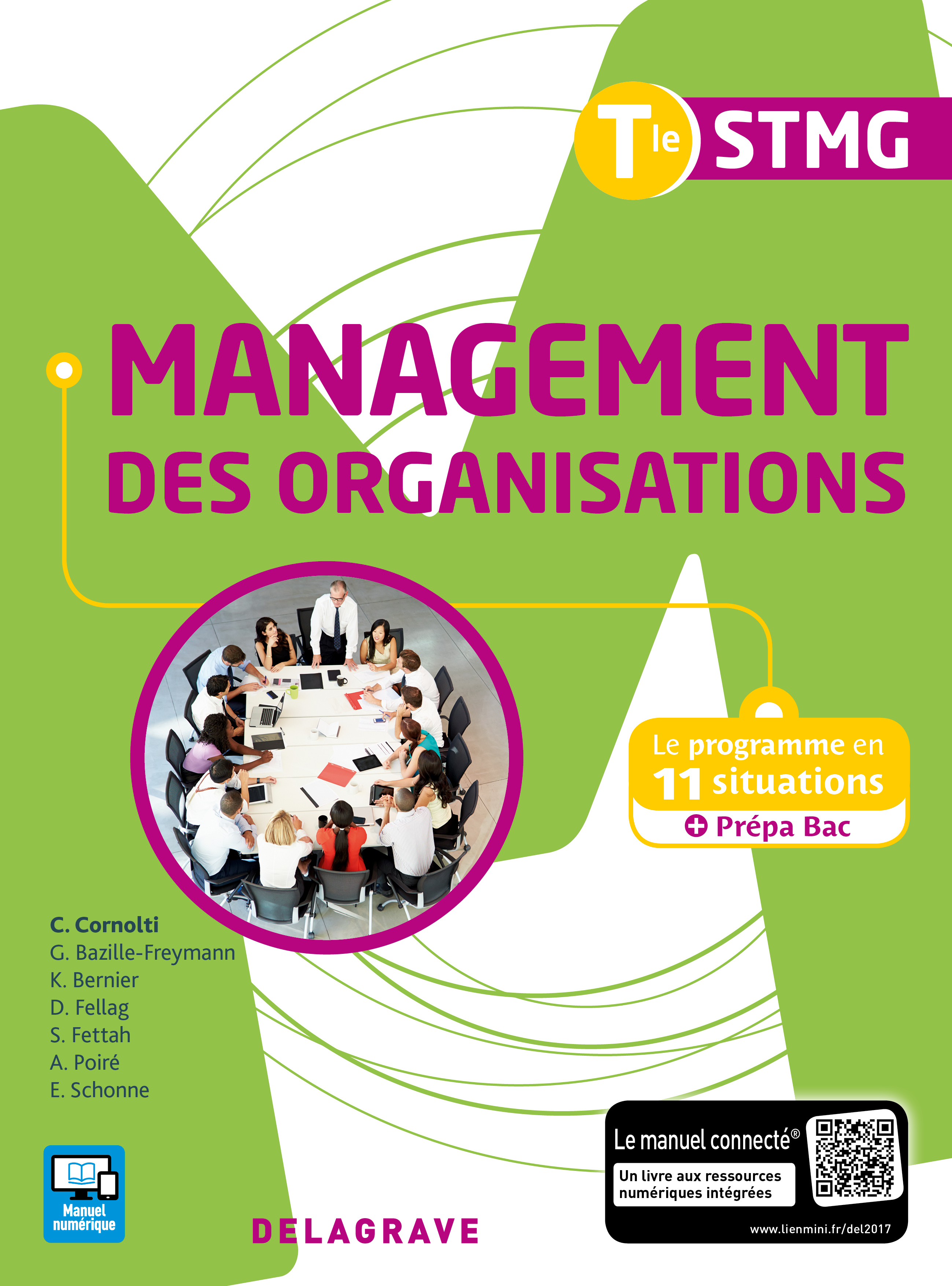 MANAGEMENT DES ORGANISATIONS TLE STMG ELEVE 2017