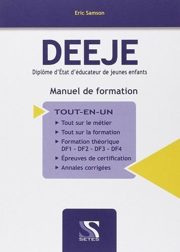 DEEJE DIPLOME D'ETAT D'EDUCATEUR DE JEUNES ENFANTS