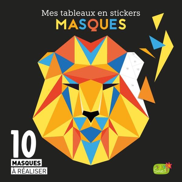 MASQUES (COLL. MES TABLEAUX EN STICKERS)