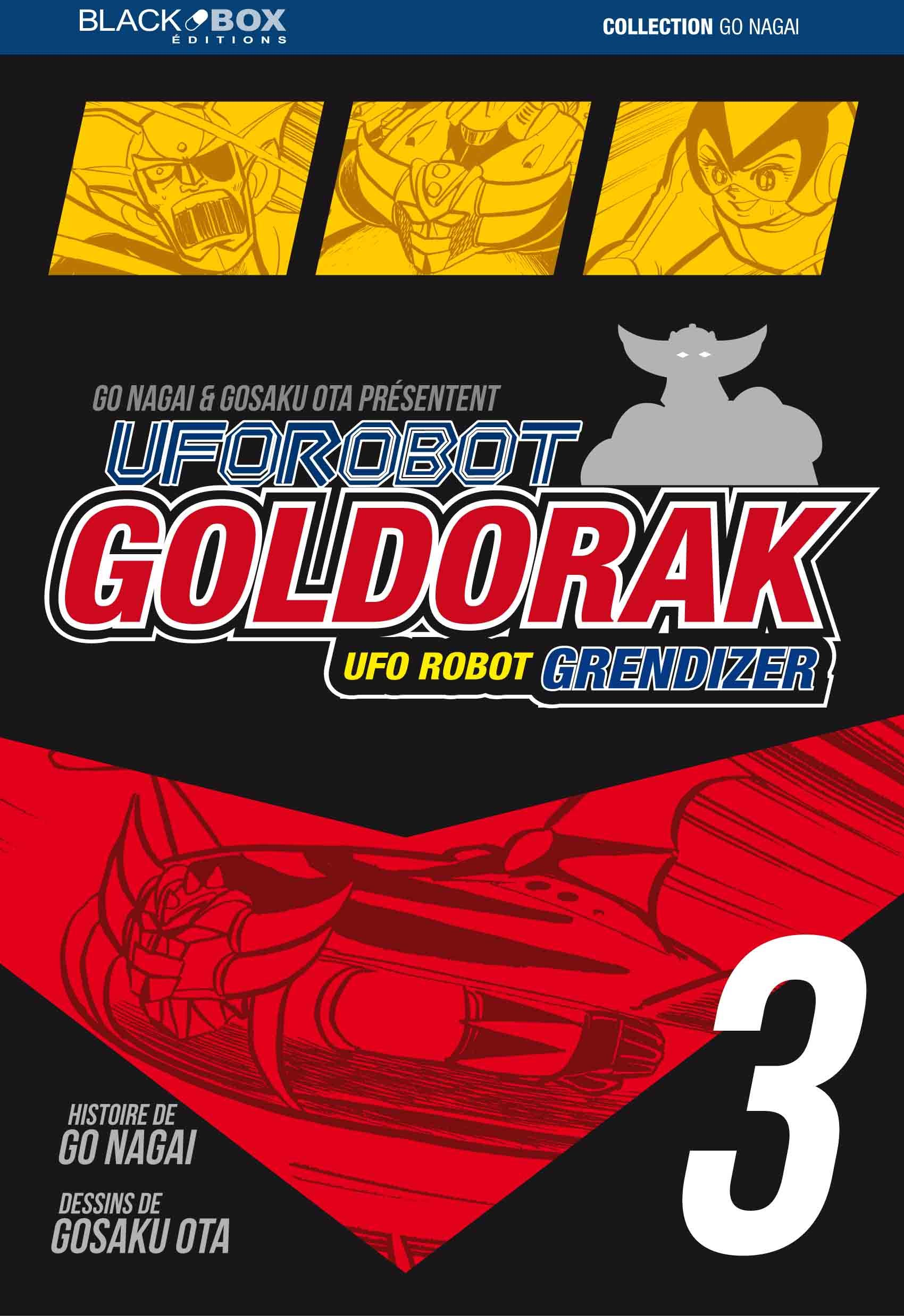 GOLDORAK TOME 3