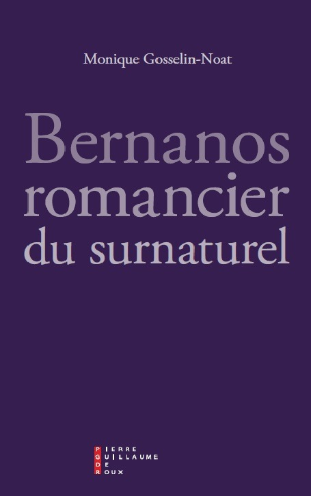 BERNANOS ROMANCIER DU SURNATUREL