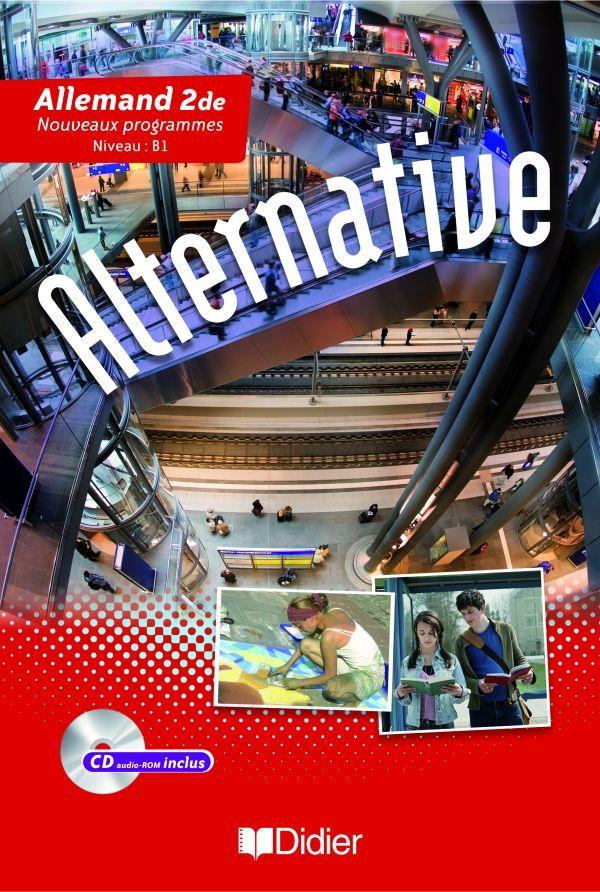 ALTERNATIVE 2DE LV1/LV2 - LIVRE   CD AUDIO