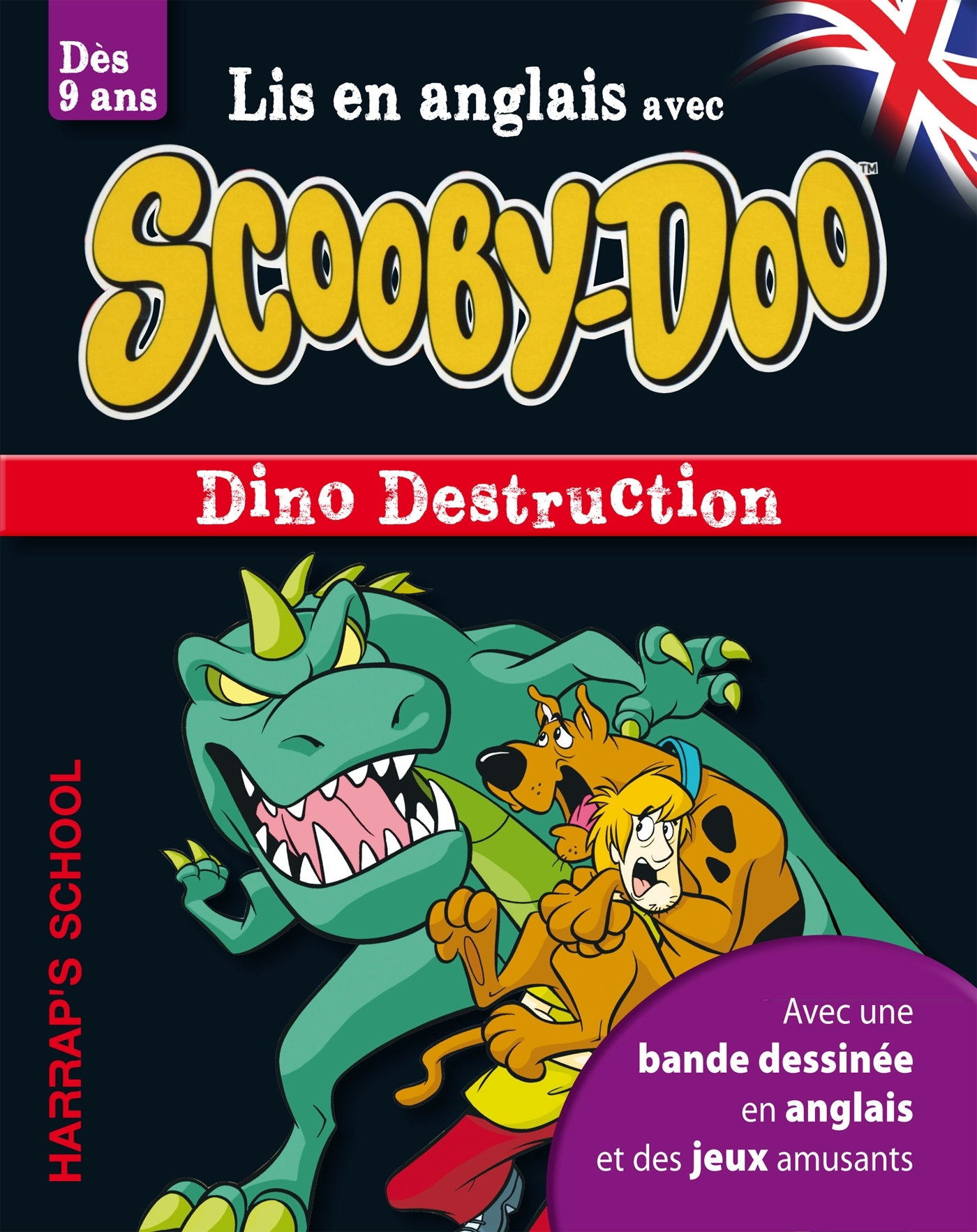 A STORY AND GAMES WITH SCOOBY-DOO - DINO DESTRUCTION