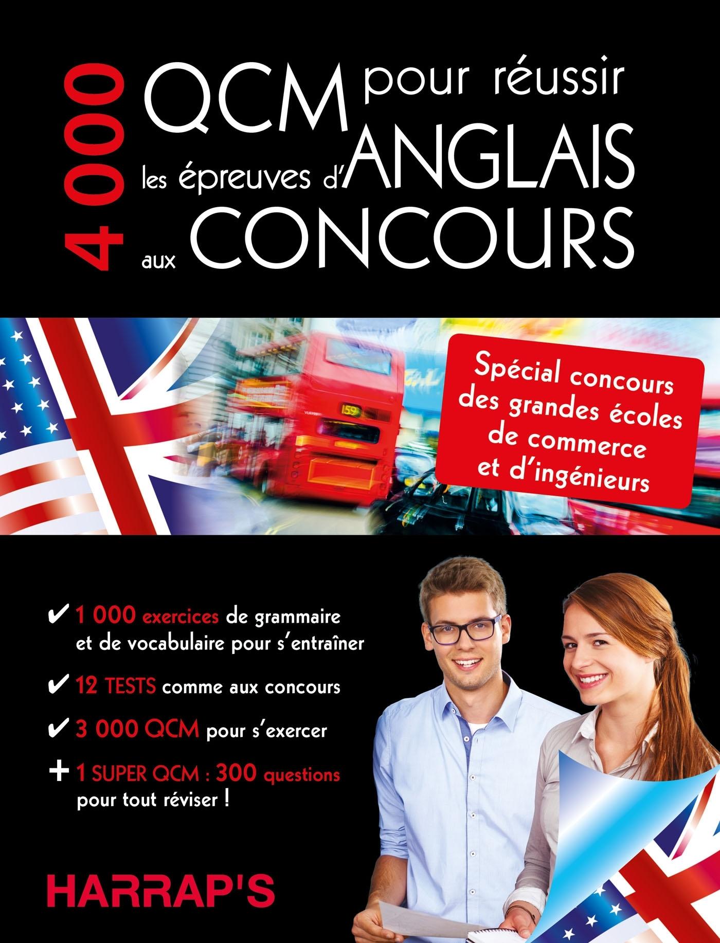 4000 QCM POUR REUSSIR L'ANGLAIS AUX CONCOURS