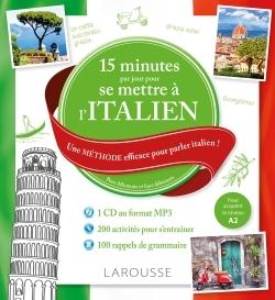 15 MN PAR JOUR POUR SE METTRE A L'ITALIEN   CD