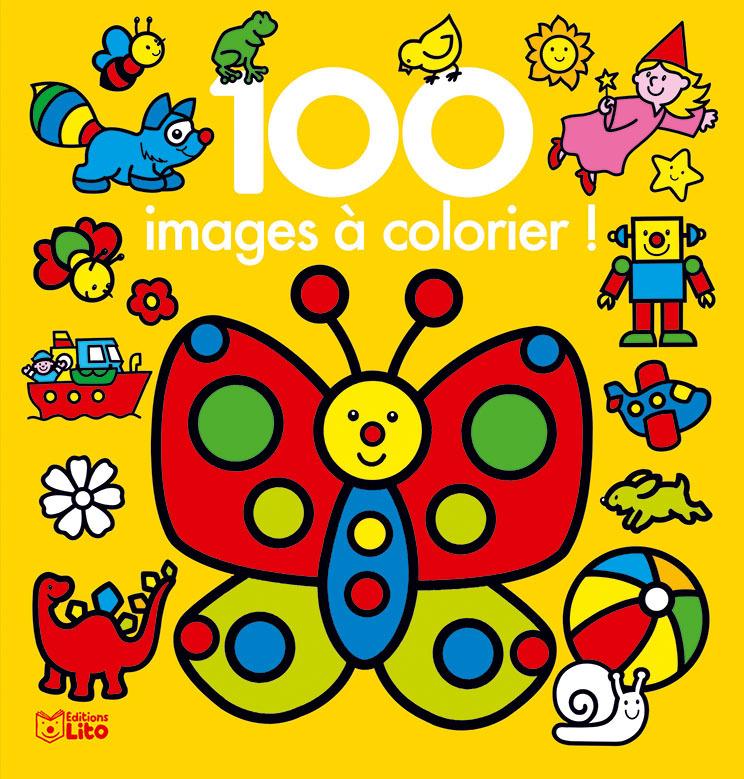 100 IMAGES A COLORIER PAPILLON