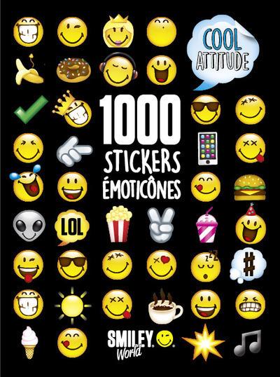 1000 STICKERS EMOTICONES - COOL ATTITUDE