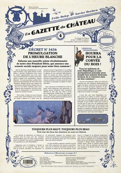 LA GAZETTE DU CHÂTEAU