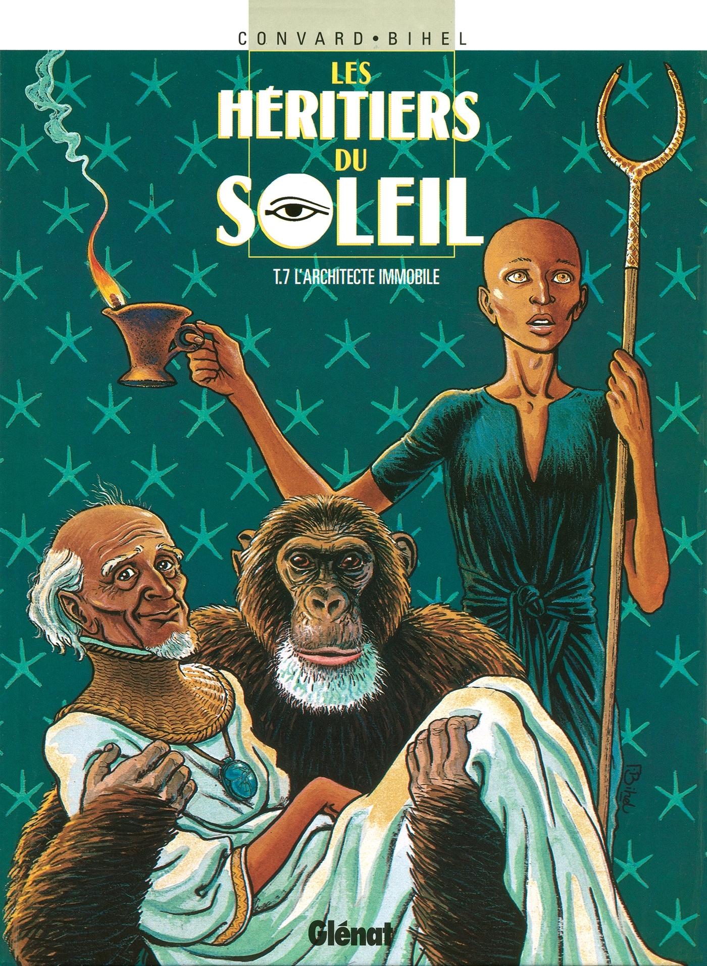 LES HERITIERS DU SOLEIL - TOME 07
