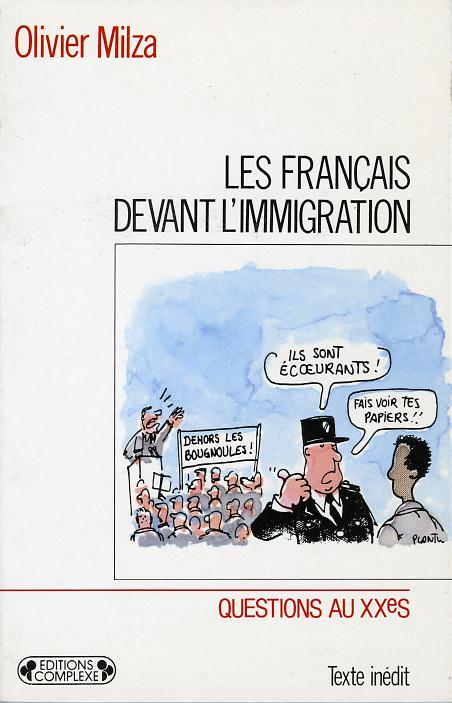 FRANCAIS DEVANT L'IMMIGRATION