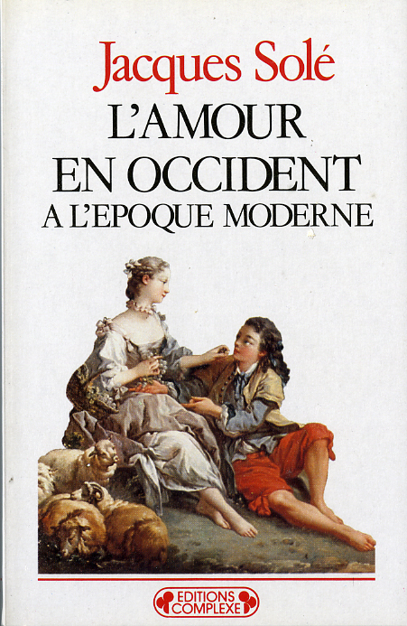 L'AMOUR EN OCCIDENT