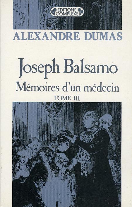 JOSEPH BALSAMO  TOME 3