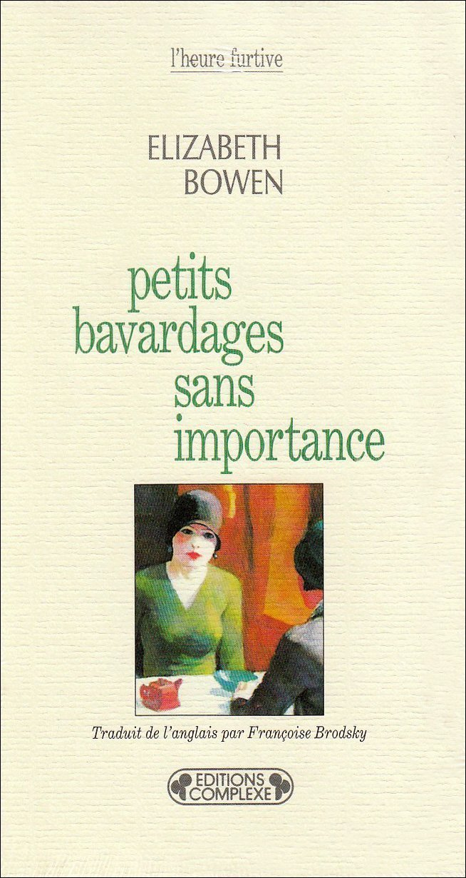 PETITS BAVARDAGES SANS IMPORTANCE