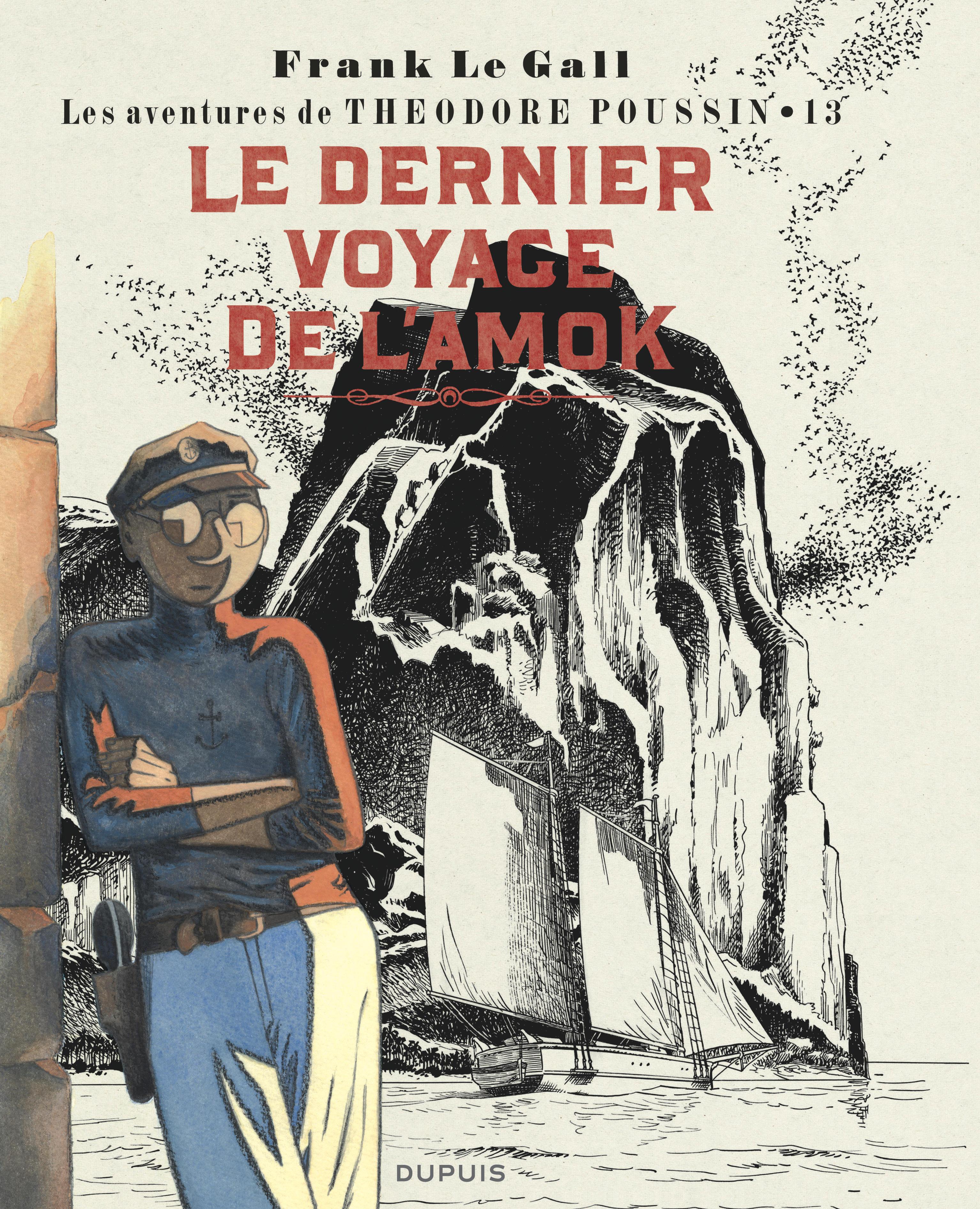 THEODORE POUSSIN T13  LE DERNIER VOYAGE DE L'AMOK