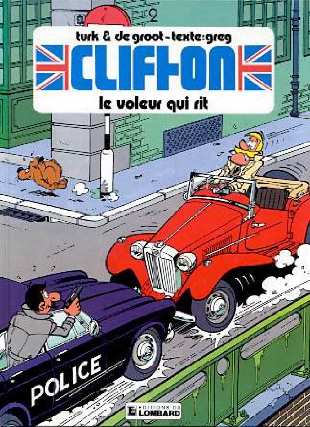 CLIFTON T2 LE VOLEUR QUI RIT