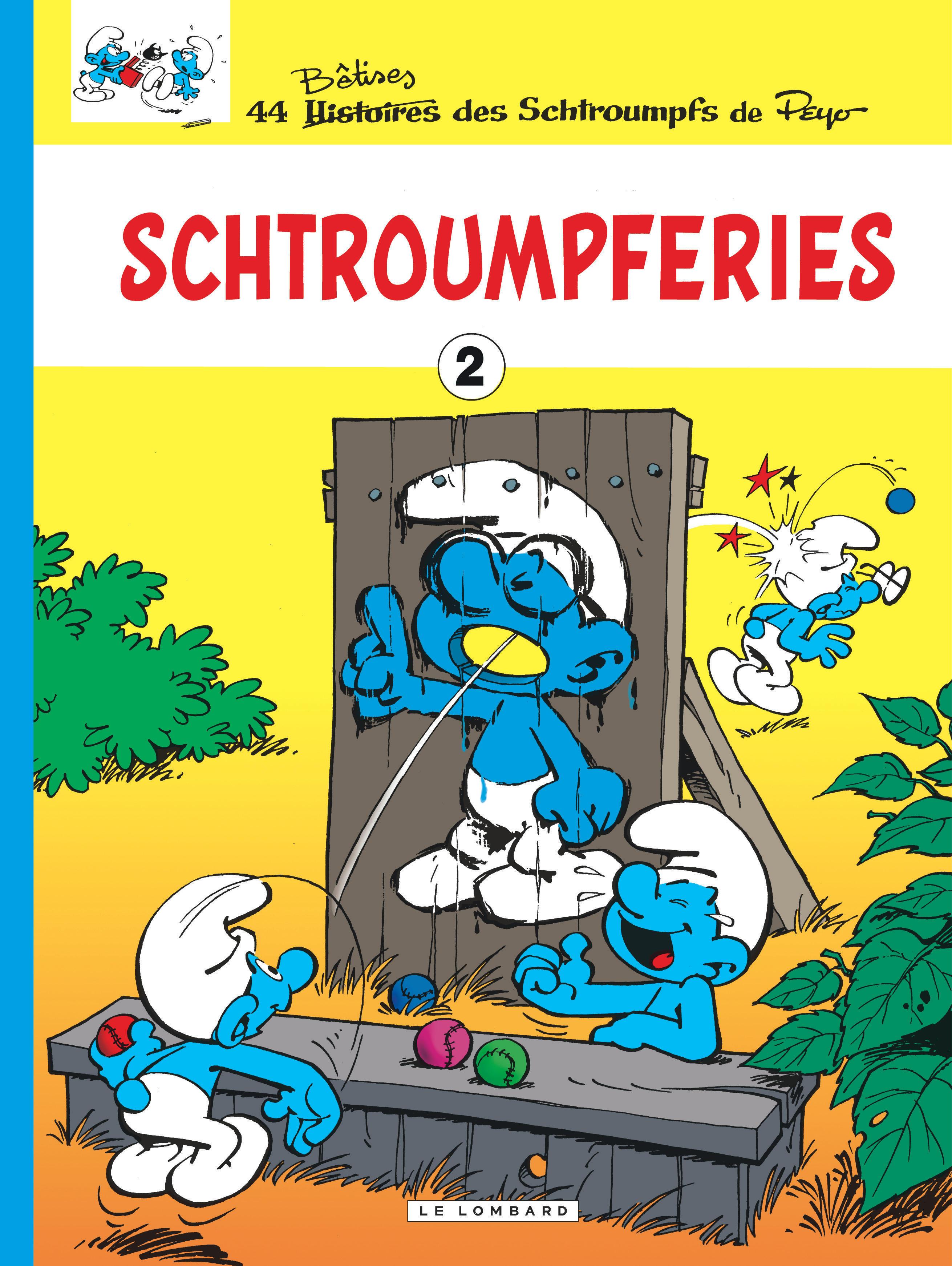 LES SCHTROUMPFS T2 SCHTROUMPFERIES T2
