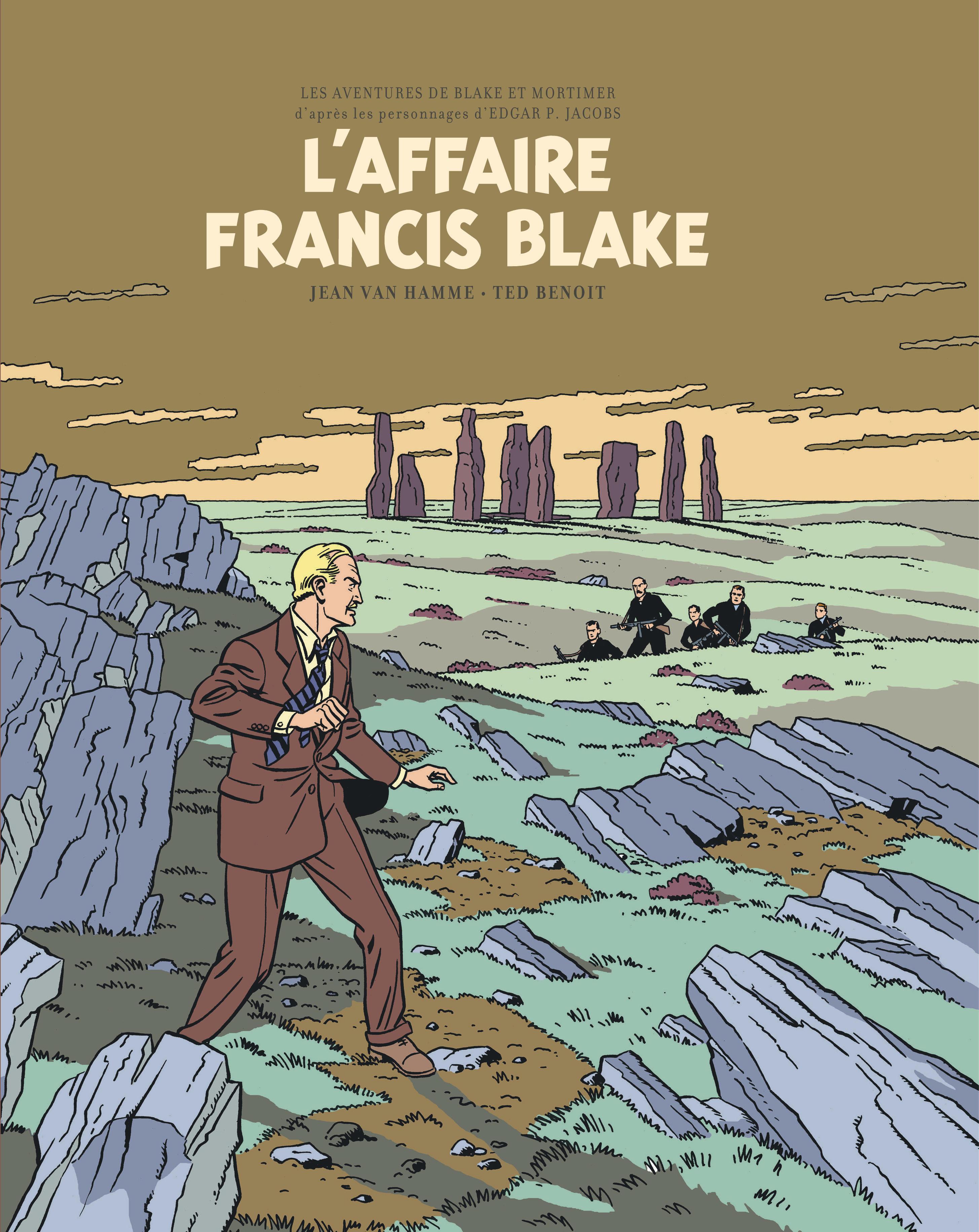 BLAKE ET MORTIMER T13 L'AFFAIRE FRANCIS BLAKE-EDITION BIBLIOPHILE