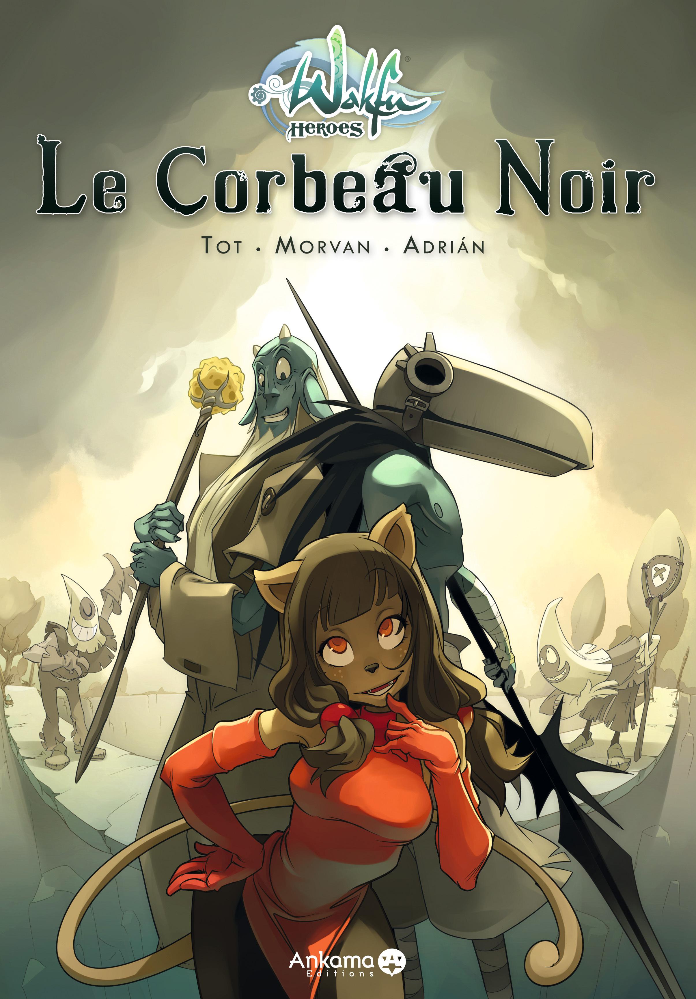 WAKFU HEROES LE CORBEAU NOIR