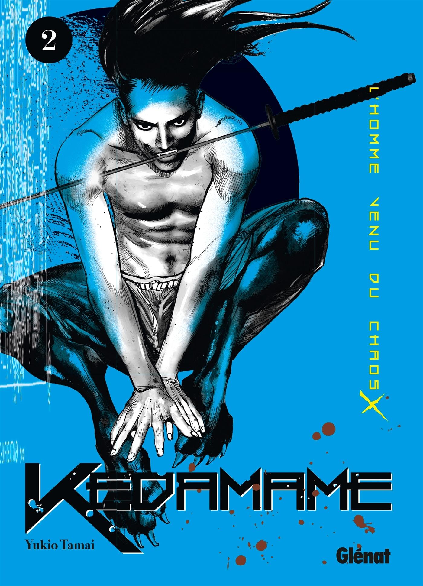 KEDAMAME L'HOMME VENU DU CHAOS - TOME 02