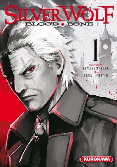 SILVER WOLF - TOME 1 BLOOD BONE