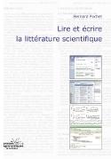 LIRE ET ECRIRE LA LITTERATURE SCIENTIFIQUE