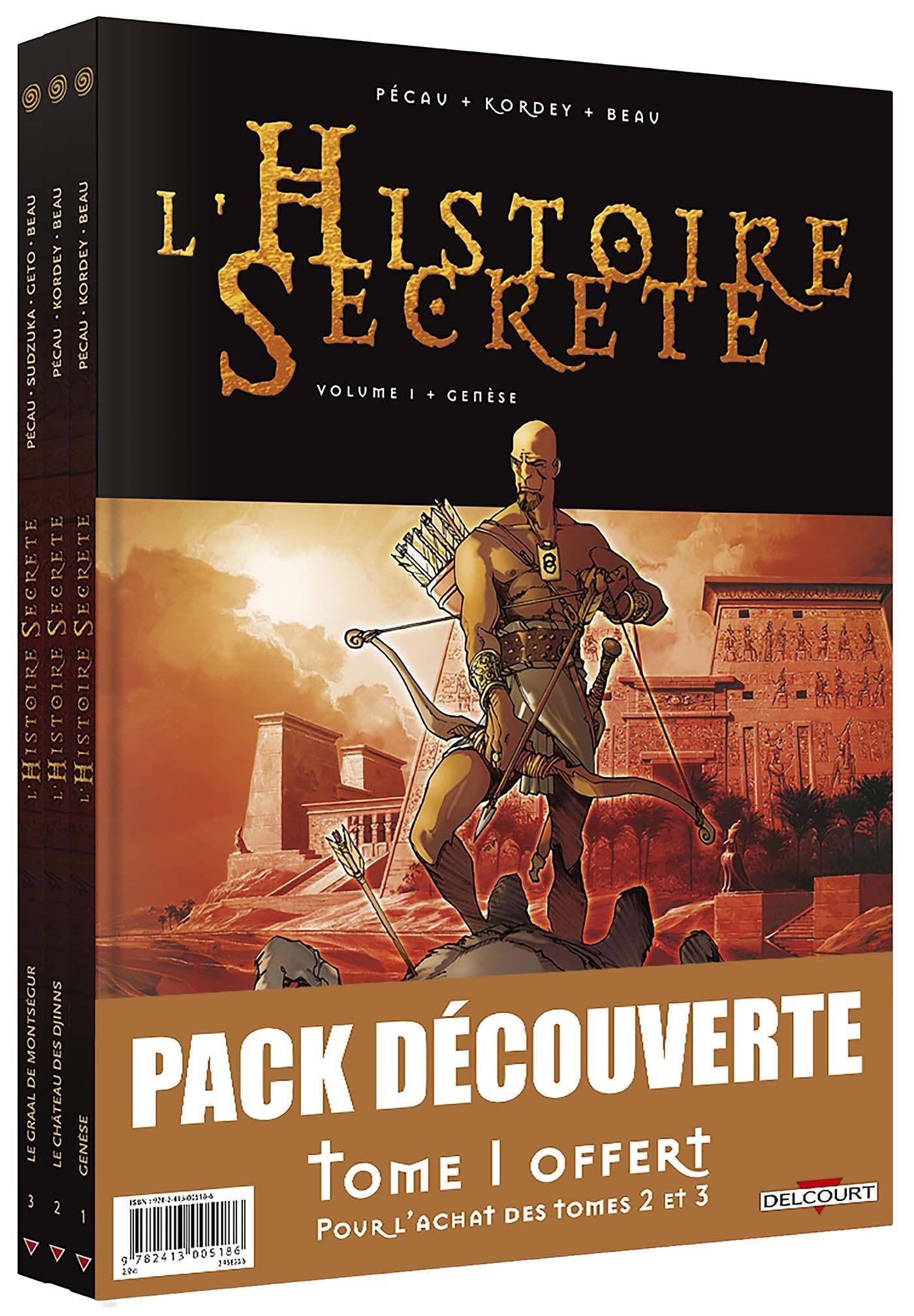 HISTOIRE SECRETE PACK T1 EDITION HC + T2 + T3