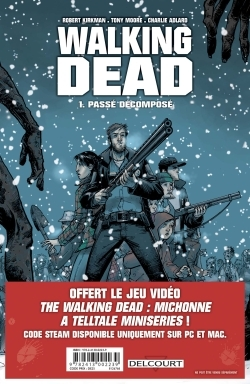 WALKING DEAD - PACK TOME 1 + PRIME 2017