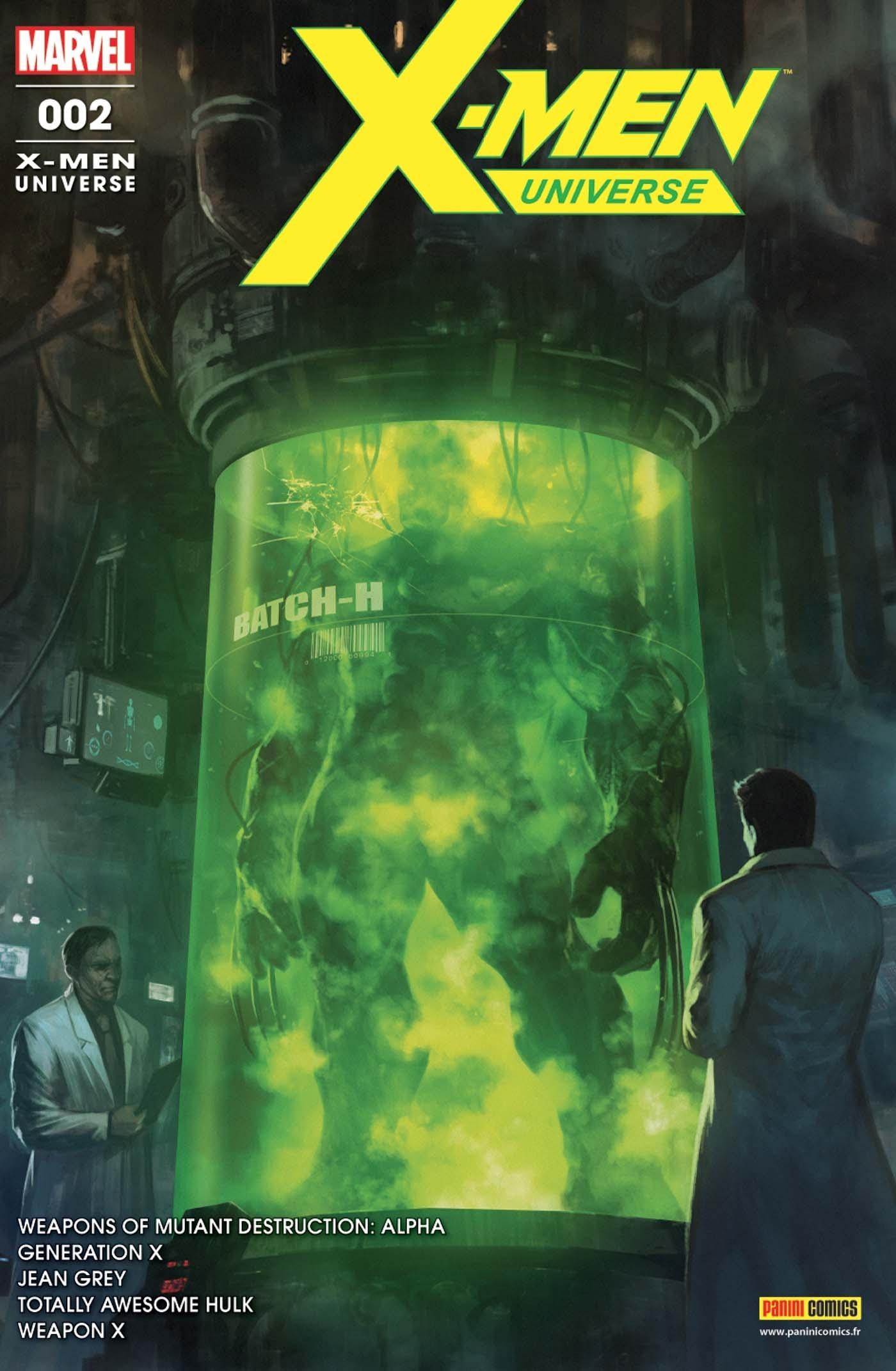 X-MEN UNIVERSE N 2
