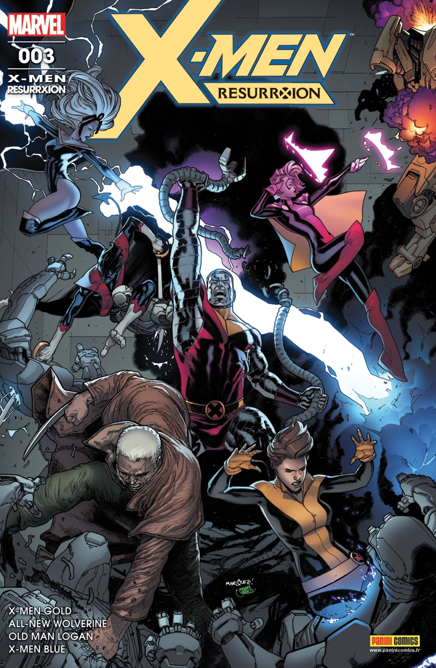 X-MEN : RESURRXION N 3