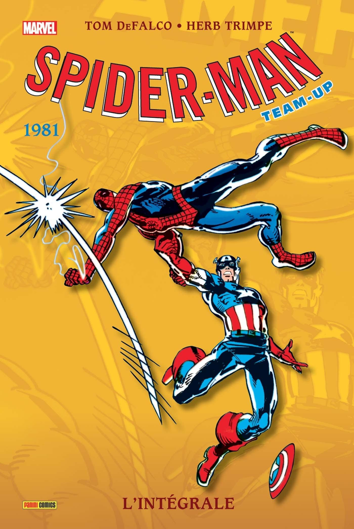 SPIDER-MAN TEAM-UP INTEGRALE T39 1981