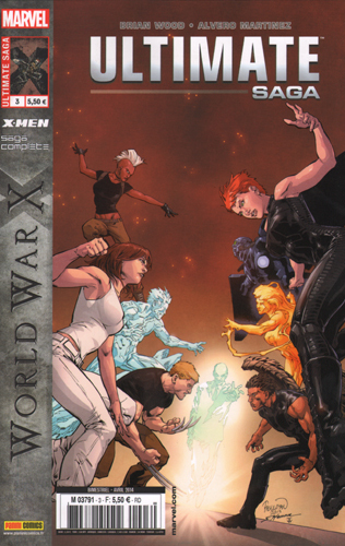 ULTIMATE SAGA 03 ULTIMATE X-MEN - WORLD WAR X