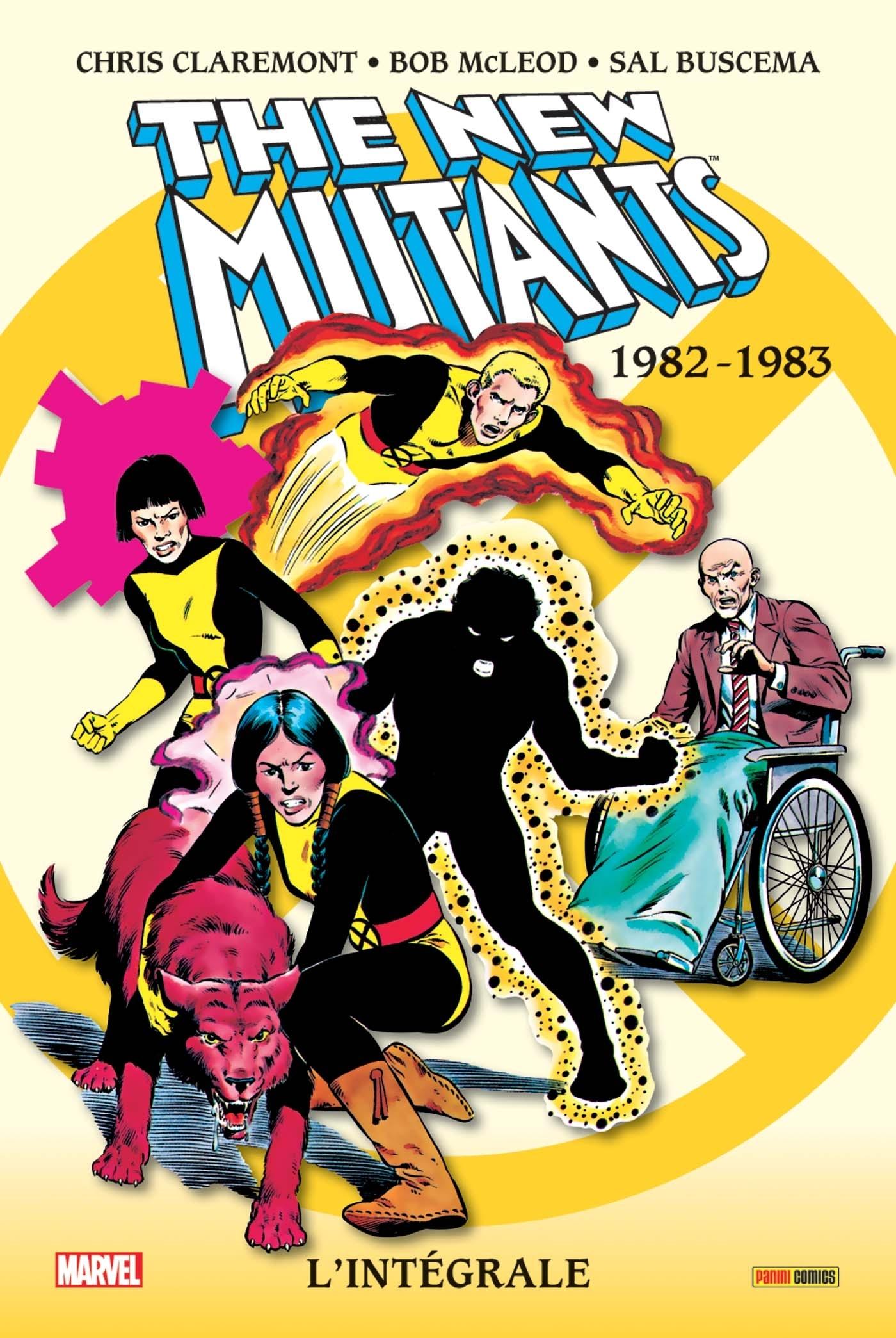LES NOUVEAUX MUTANTS INTEGRALE T01 1982-1983